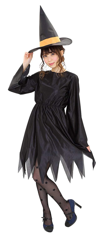 ハロウィンの定番!魔女コスに合うヘアアレンジ1