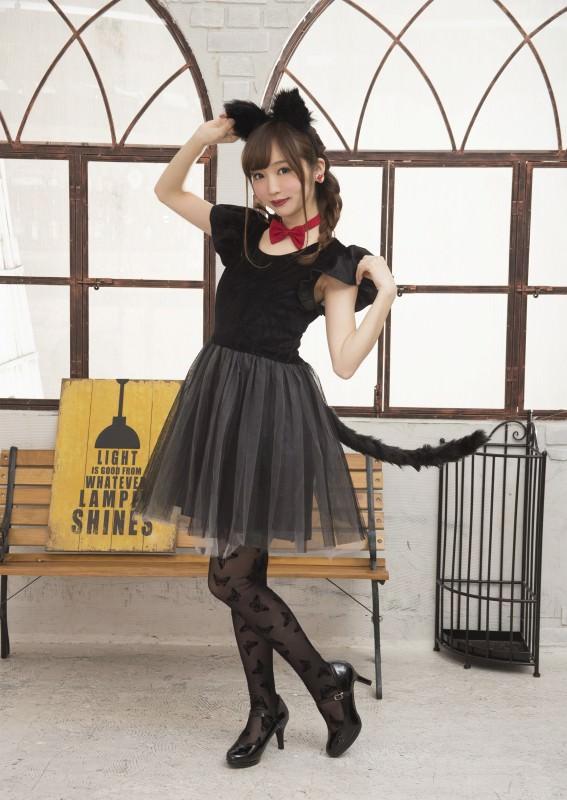 女子に大人気☆ハロウィンの猫コスに合うヘアアレンジ1