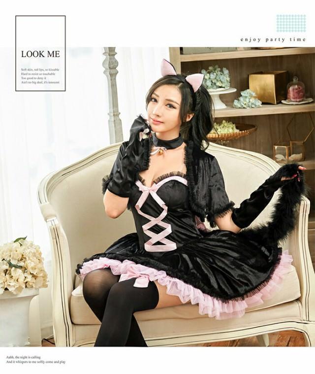 女子に大人気☆ハロウィンの猫コスに合うヘアアレンジ3