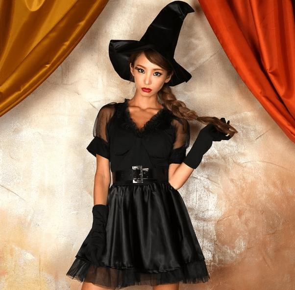 ハロウィンの定番!魔女コスに合うヘアアレンジ2