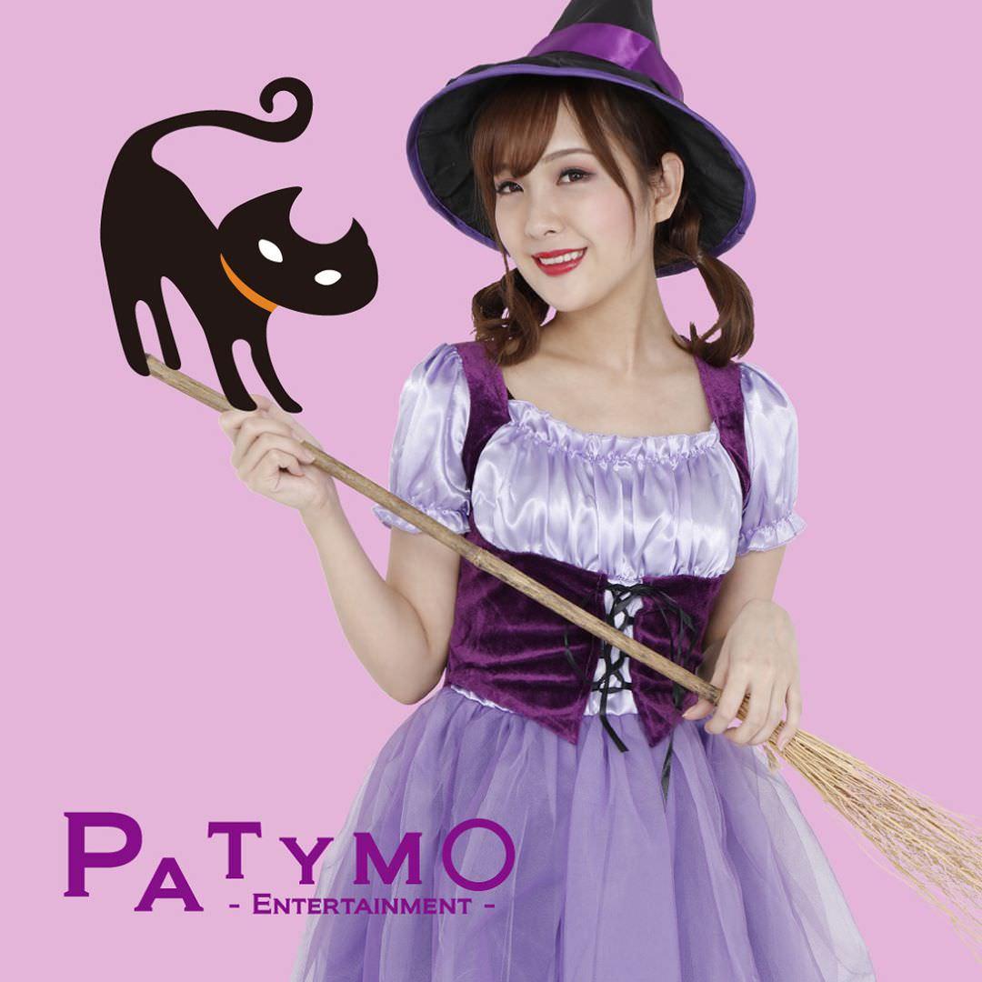 ハロウィンの定番!魔女コスに合うヘアアレンジ4