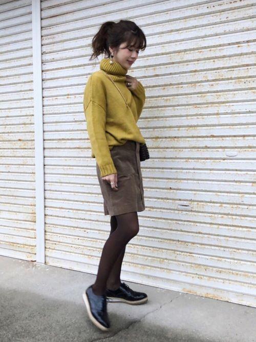 大定番!台形スカートに似合うヘアスタイル♪4