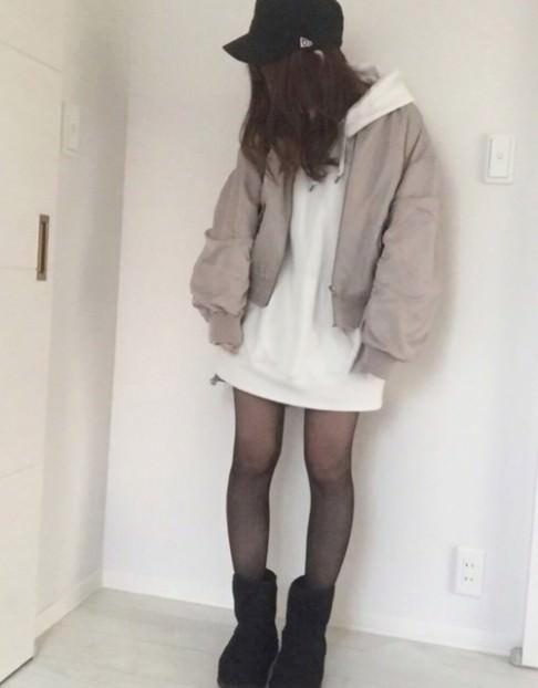 ムートンブーツと合わせるヘアアレンジ☆