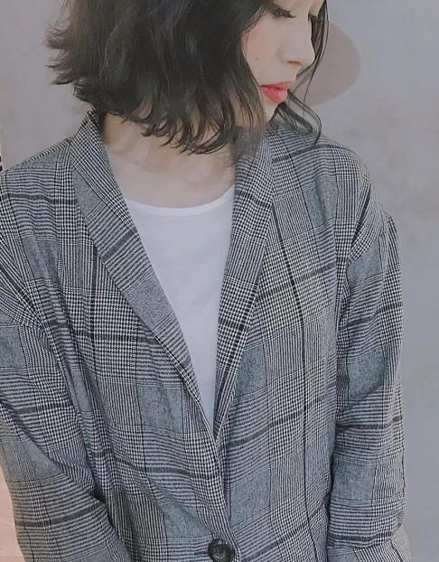 冬の定番★チェスターコートを格上げしちゃうヘアスタイル