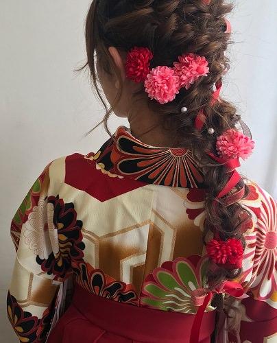 卒業式で最高の写真が撮れるヘアアレンジ☆