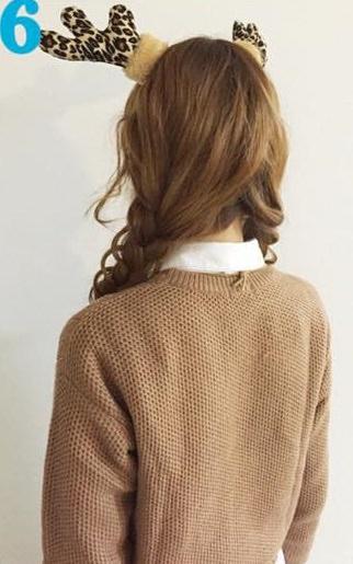 タイツのときにやりたい!色っぽいヘアアレンジ★8三つ編みツイン