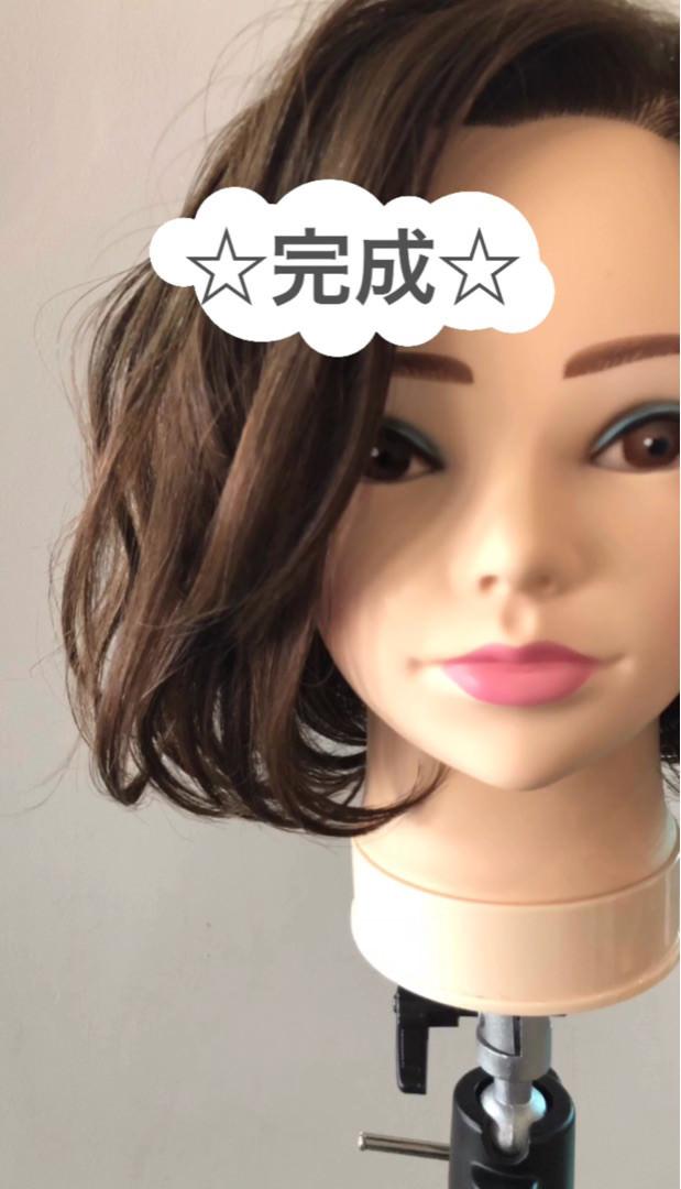タイツのときにやりたい!色っぽいヘアアレンジ★7巻き髪