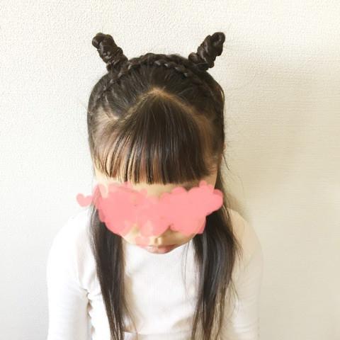 ブーム真っただ中!大人気韓国グループの女の子になれちゃうヘアスタイル♡ツノヘアさくら