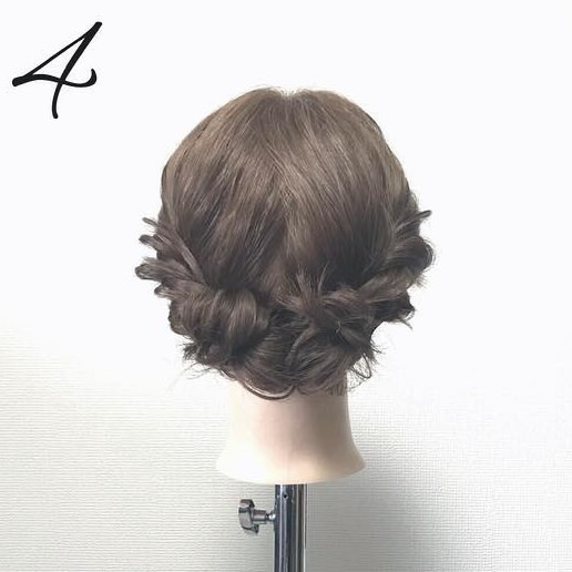 タイツのときにやりたい!色っぽいヘアアレンジ★9まとめ髪