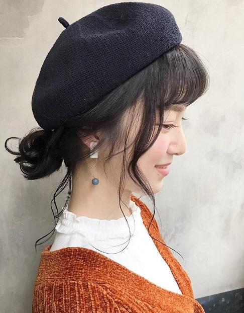 黒髪でもオシャレに見える☆黒髪に似合うヘアアレンジ