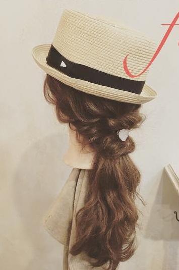 日焼け対策にばっちり◎帽子を被る時におすすめのヘアアレンジ9