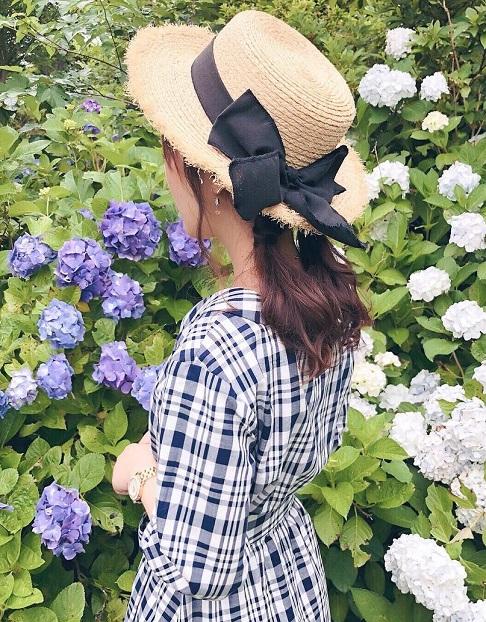 日焼け対策にばっちり◎帽子を被る時におすすめのヘアアレンジ