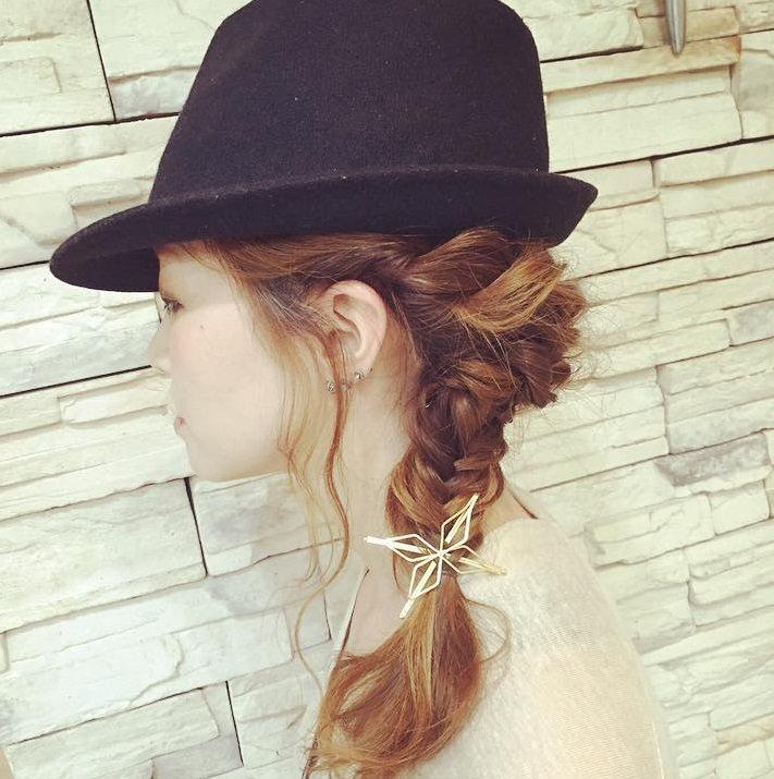 日焼け対策にばっちり◎帽子を被る時におすすめのヘアアレンジ10