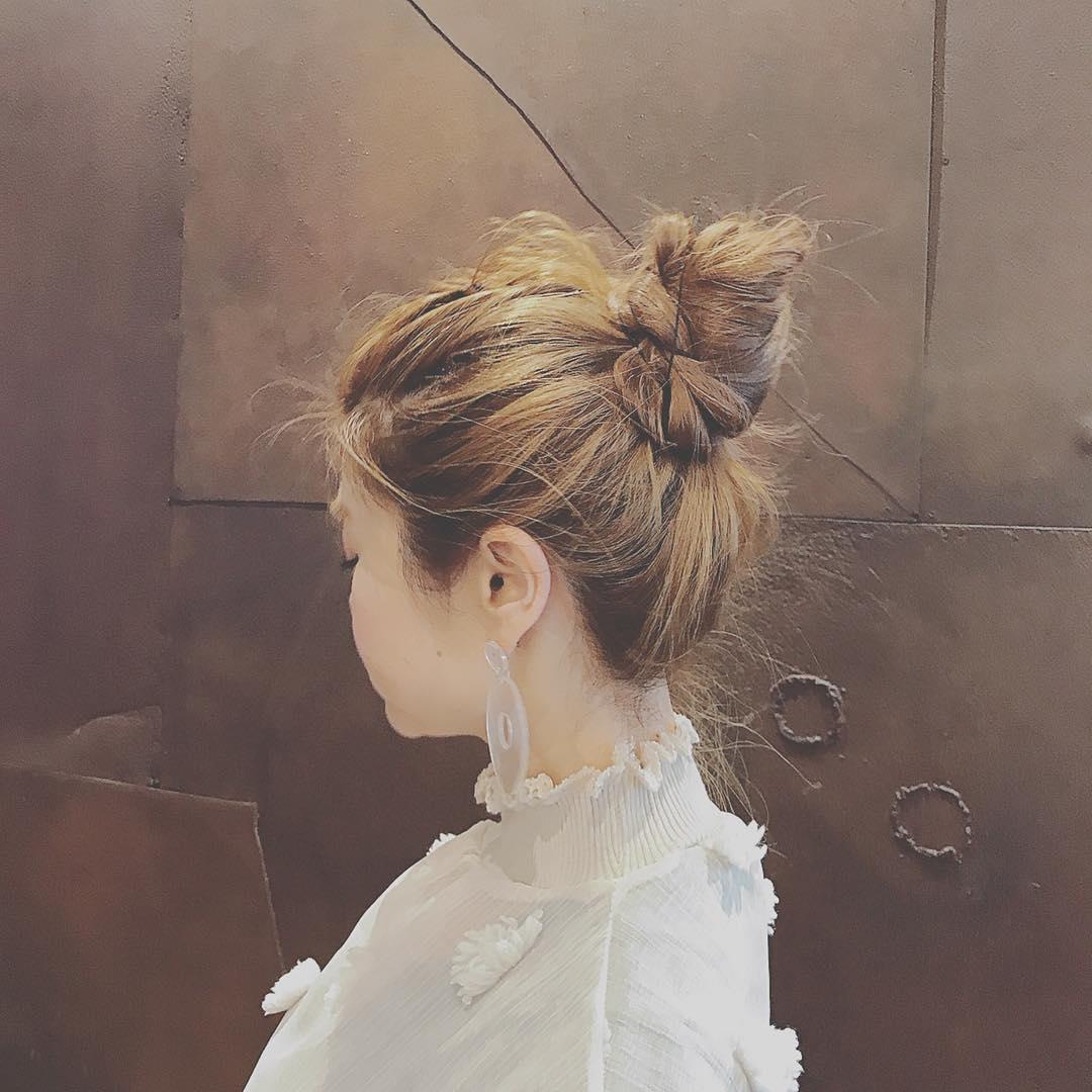 横顔美人になりたい!横顔を綺麗に見せるヘアアレンジ8