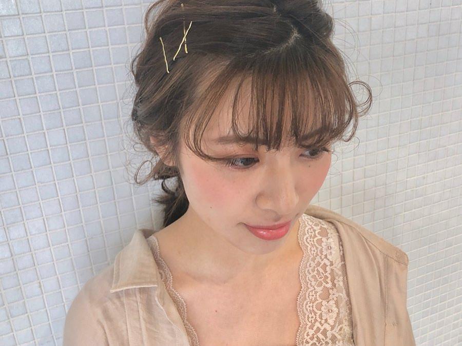 """夏はこれで決まり!""""ジューシーメイク""""にピッタリなヘアアレンジ♪ 1"""