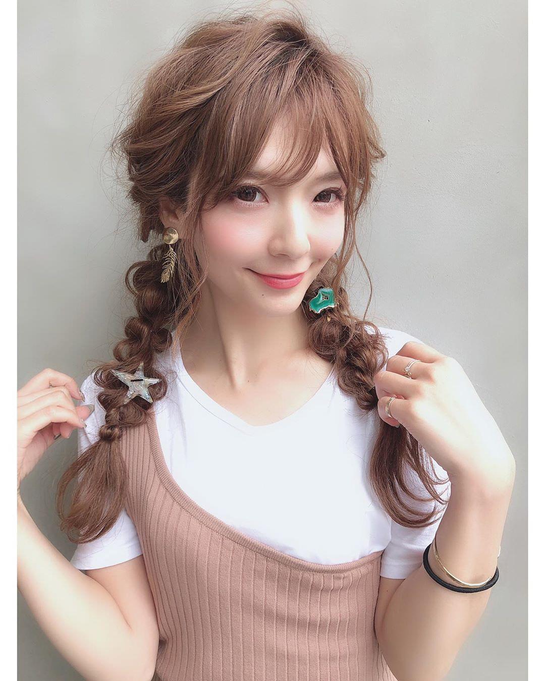 女子なら一度はやってみたい♡ハーフメイクに似合うヘアアレンジ2