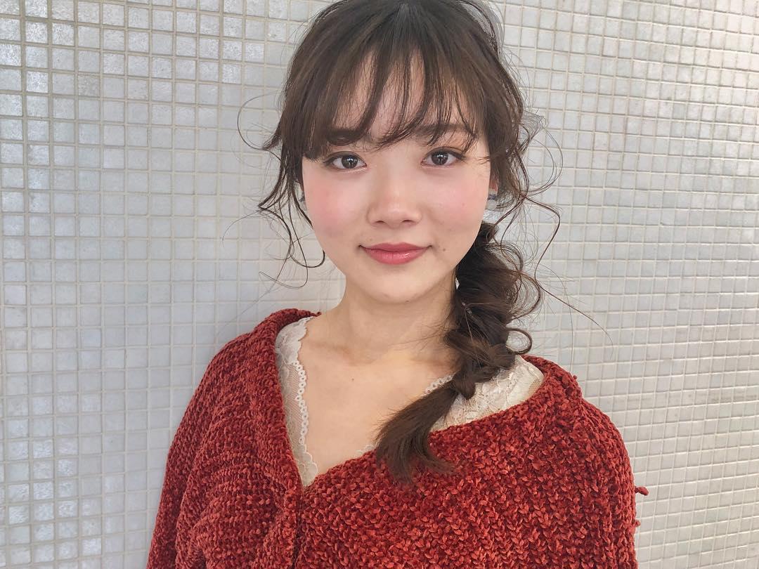 """夏はこれで決まり!""""ジューシーメイク""""にピッタリなヘアアレンジ♪ 9"""