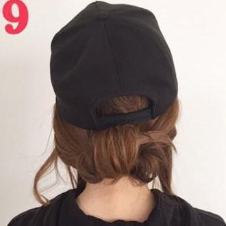 オシャレ女子の大定番☆スポーティーアイテムにぴったりのヘアアレンジ4