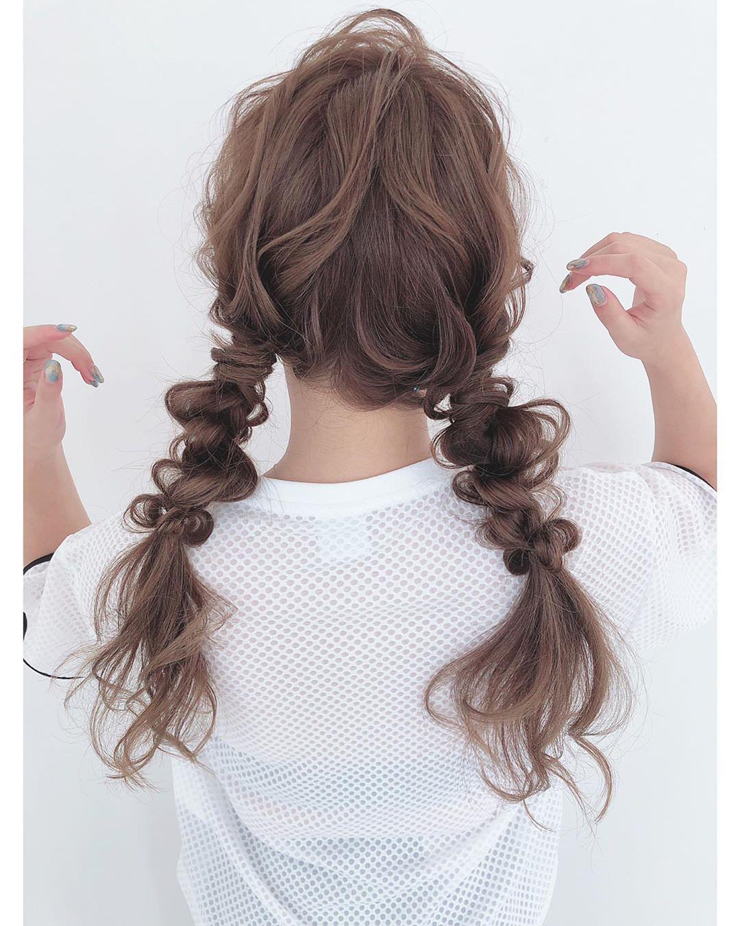 憧れる女子急増中!きぬちゃんのバラエティに富むヘアアレンジ特集4