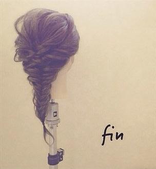 自分で髪が巻けない女子必見☆コテ要らずのゆるふわヘアアレンジ フィッシュボーン