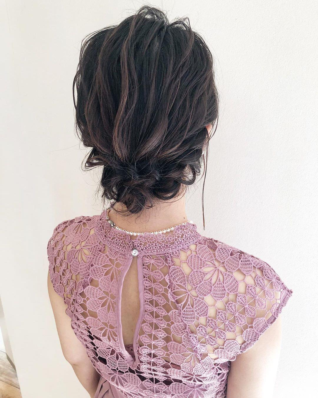 プリーツスカートと合わせたい!可愛いヘアアレンジ♡5