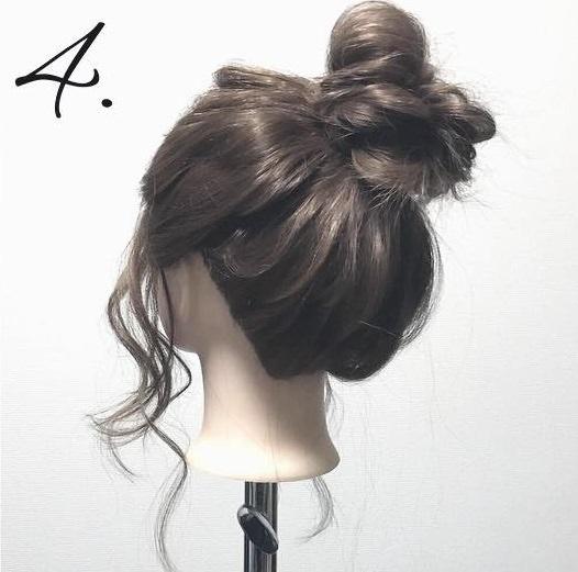 今季流行のアシンメトリートップス(ワンショルダー)に似合うヘアアレンジ 7
