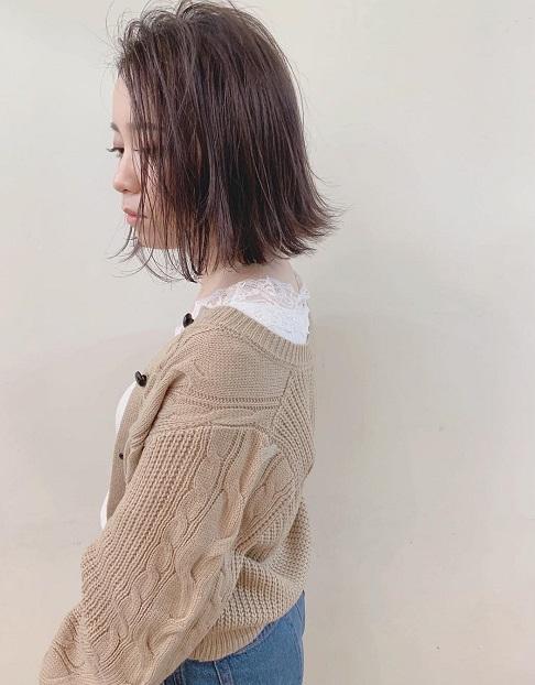 2019年トレンド☆ゆるく着られるカーディガンに合うヘアアレンジ