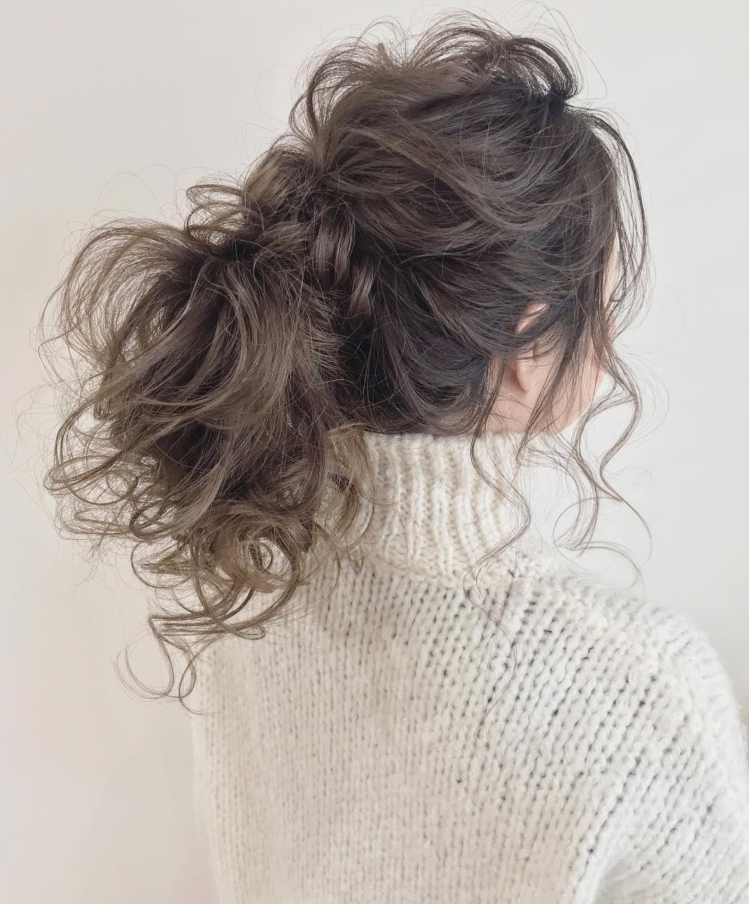 冬のニットは無敵に可愛い♡今季ニットと合わせたいヘアアレンジ♪ 4