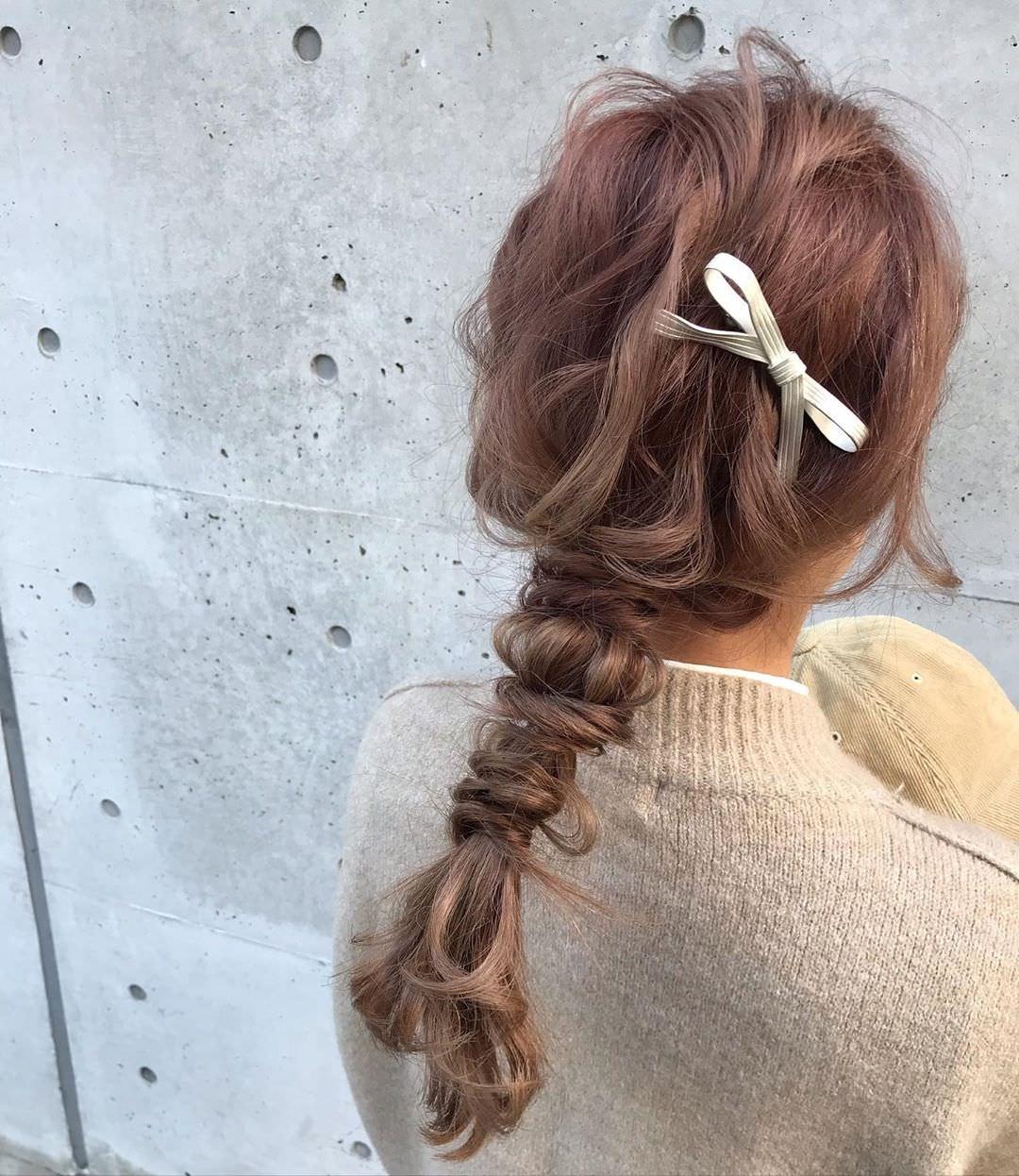 冬のニットは無敵に可愛い♡今季ニットと合わせたいヘアアレンジ♪ 7