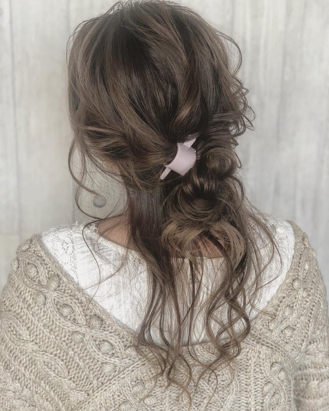 冬のニットは無敵に可愛い♡今季ニットと合わせたいヘアアレンジ♪ 8