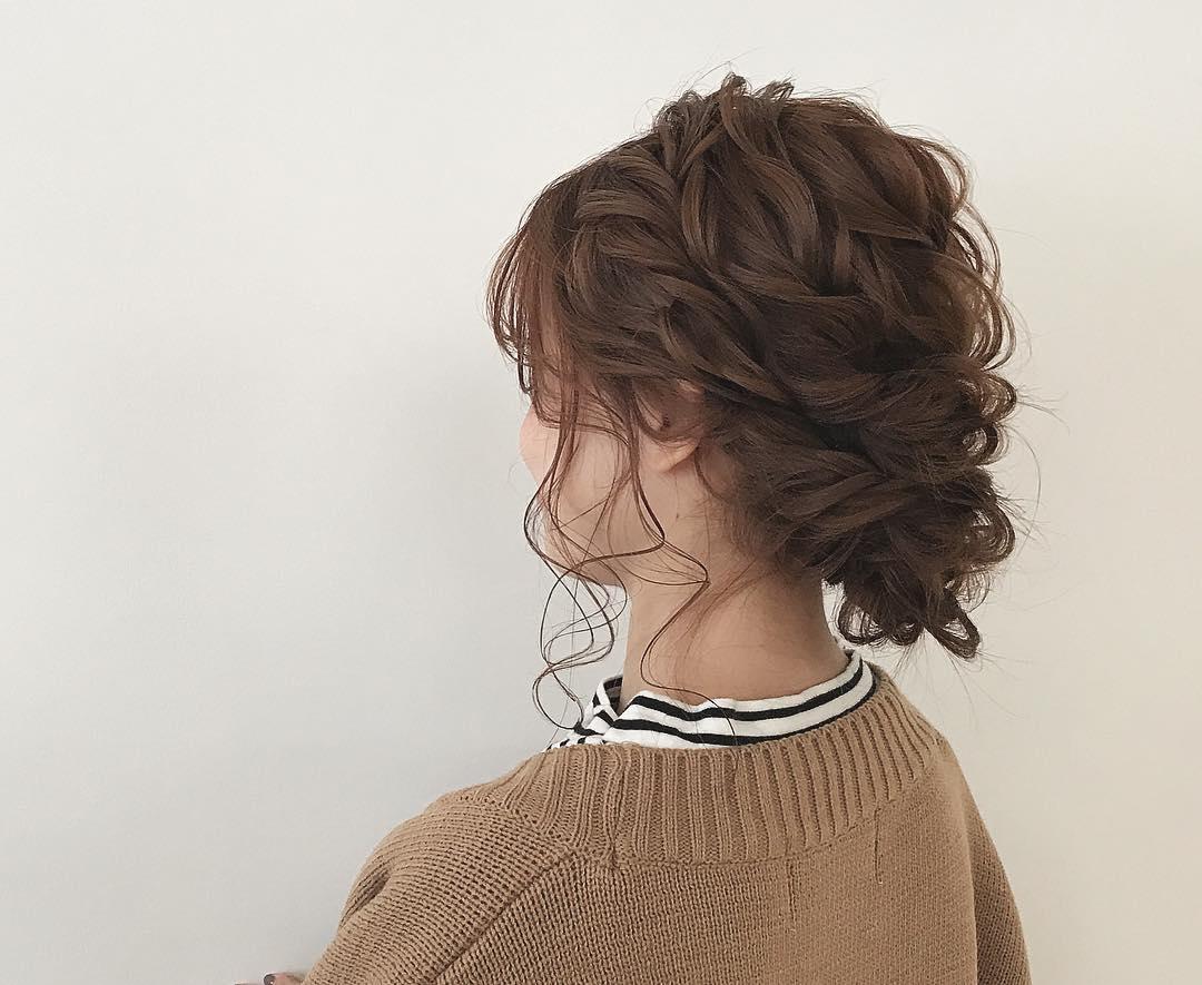 冬のニットは無敵に可愛い♡今季ニットと合わせたいヘアアレンジ♪ 9