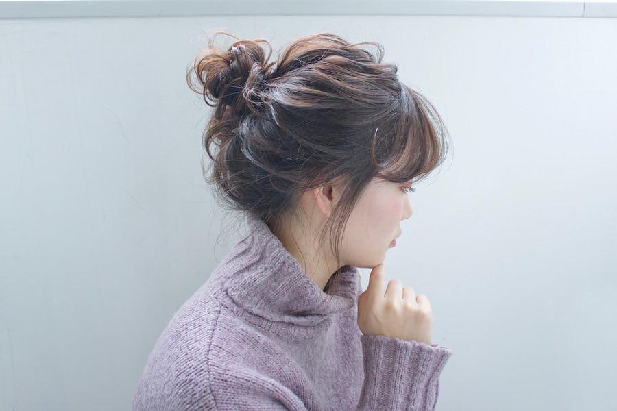 冬のニットは無敵に可愛い♡今季ニットと合わせたいヘアアレンジ♪ 2