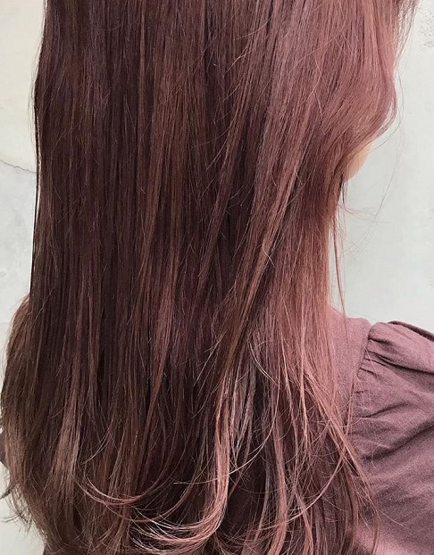 秋冬に人気のトレンドカラー☆ピンクブラウンに似合うヘアアレンジ