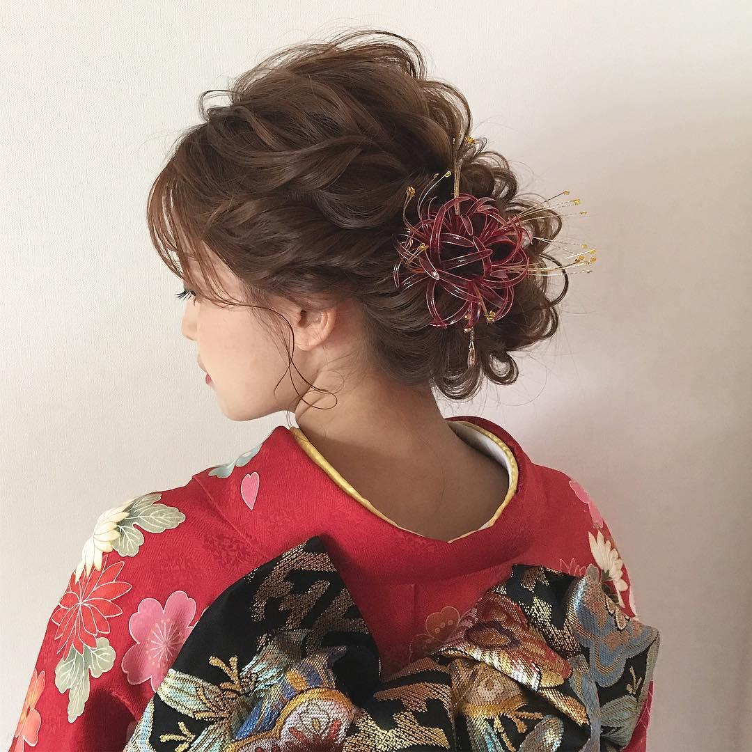 好印象◎お正月にぴったりのヘアアレンジ3