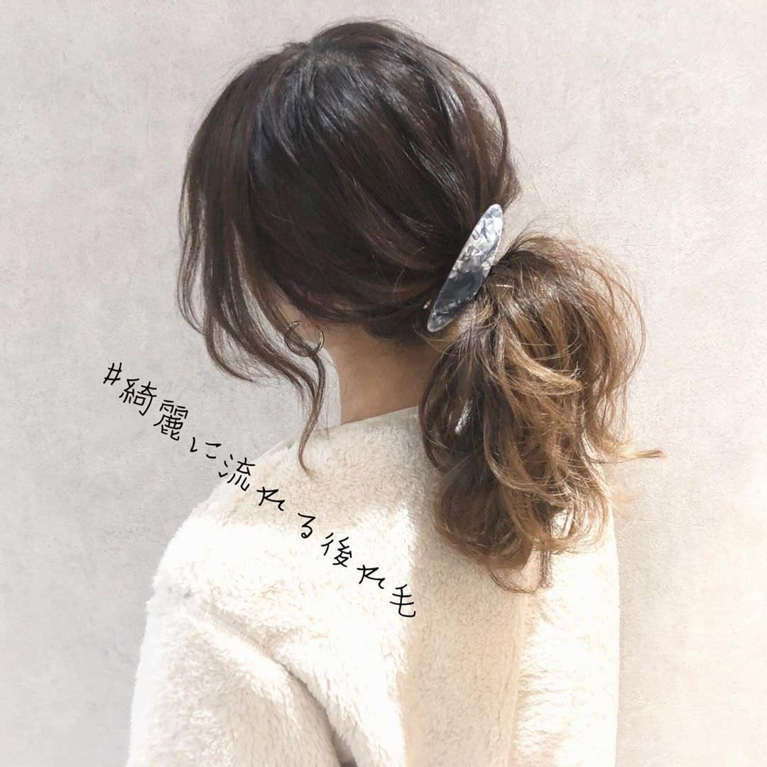 大注目のトレンドアイテム☆ボアコートにぴったりのヘアアレンジ7