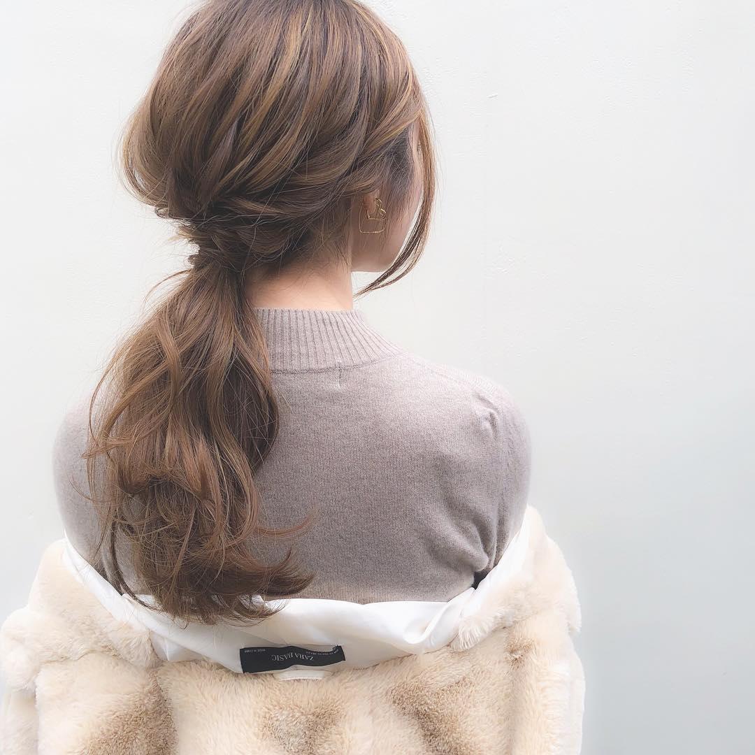大注目のトレンドアイテム☆ボアコートにぴったりのヘアアレンジ10