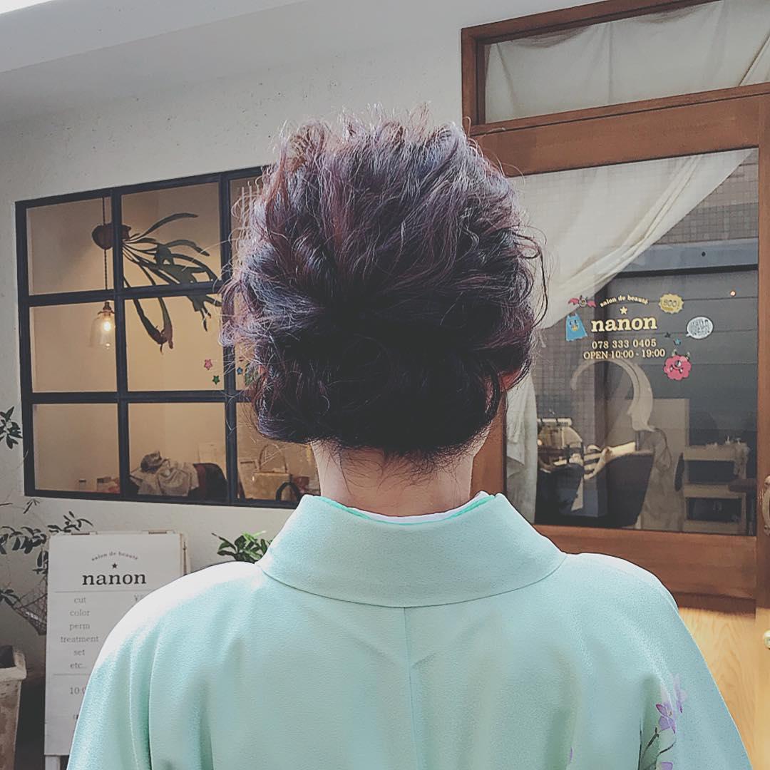 好印象◎お正月にぴったりのヘアアレンジ7