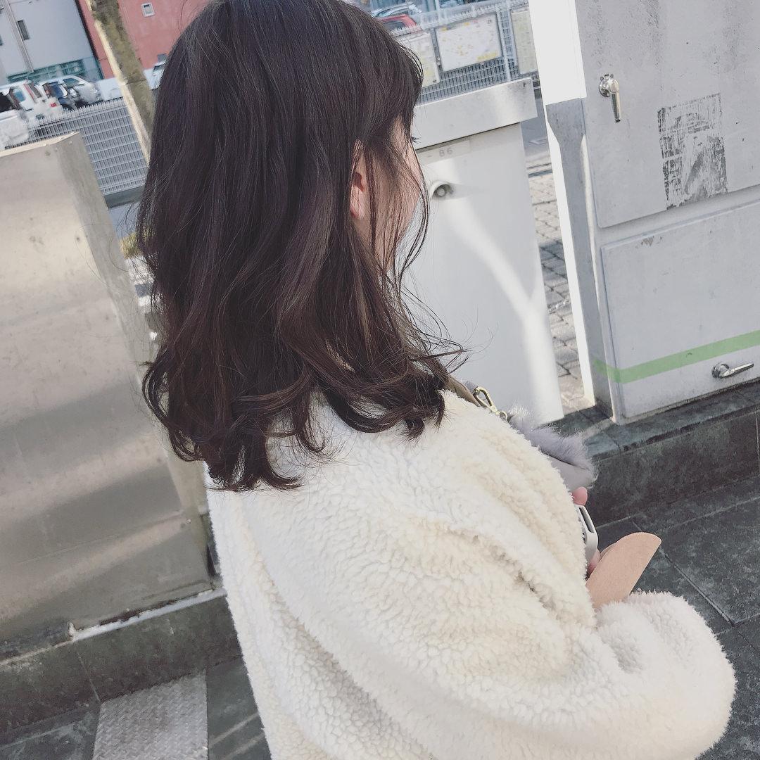 大注目のトレンドアイテム☆ボアコートにぴったりのヘアアレンジ9