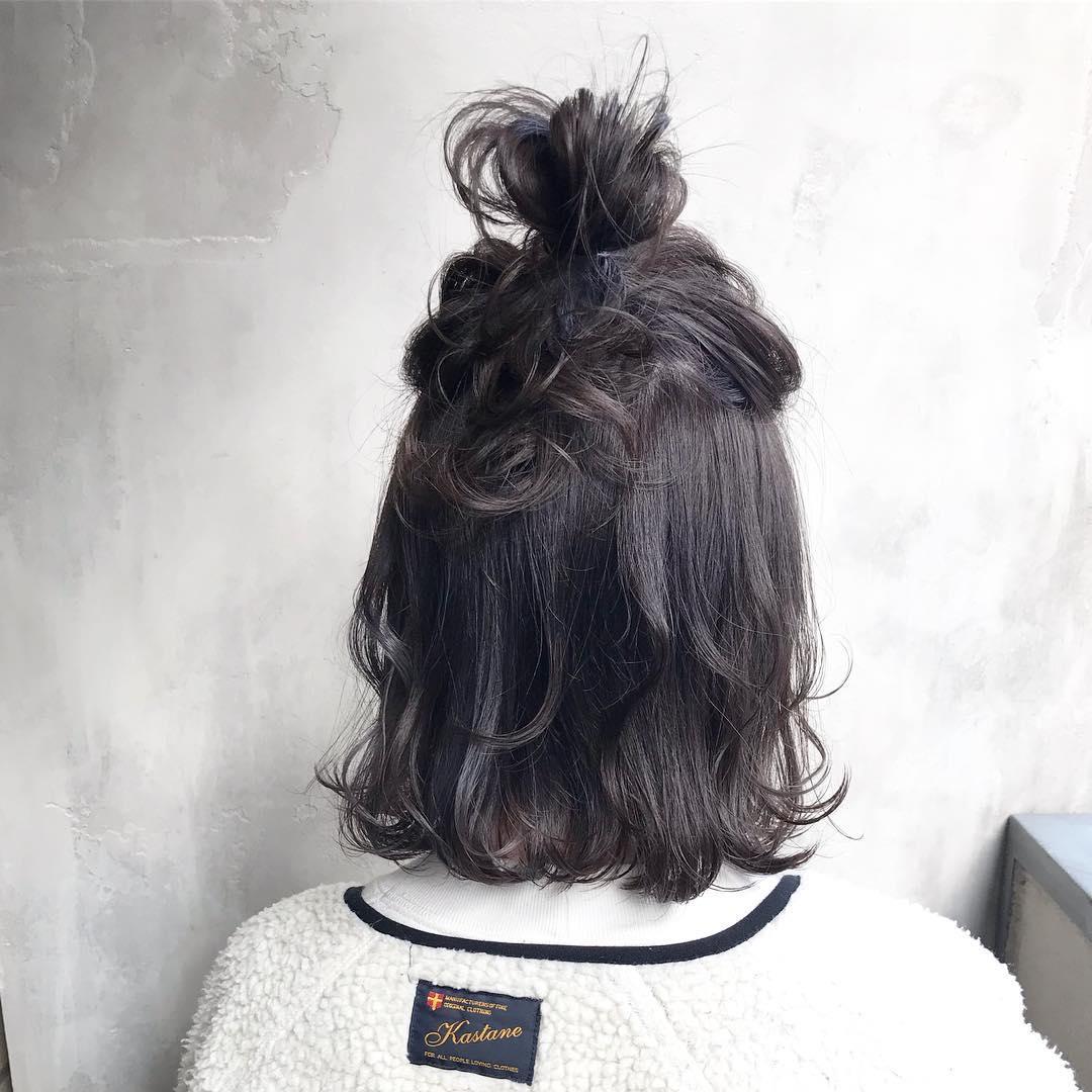 大注目のトレンドアイテム☆ボアコートにぴったりのヘアアレンジ1