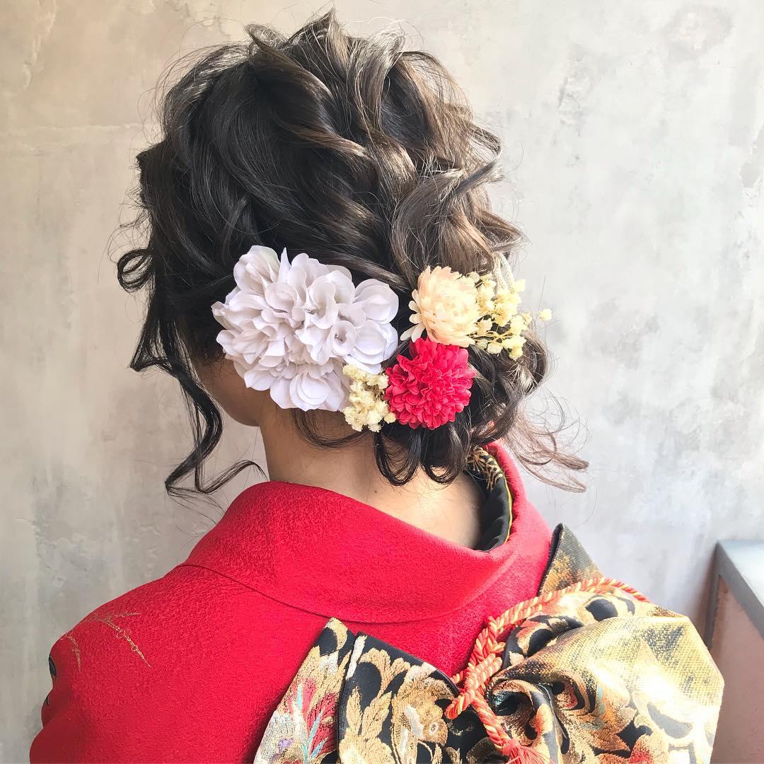 好印象◎お正月にぴったりのヘアアレンジ9