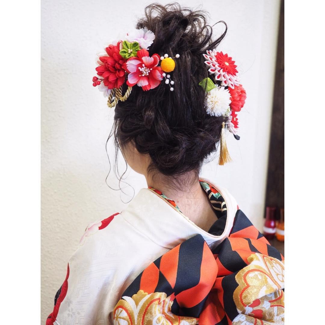 好印象◎お正月にぴったりのヘアアレンジ5