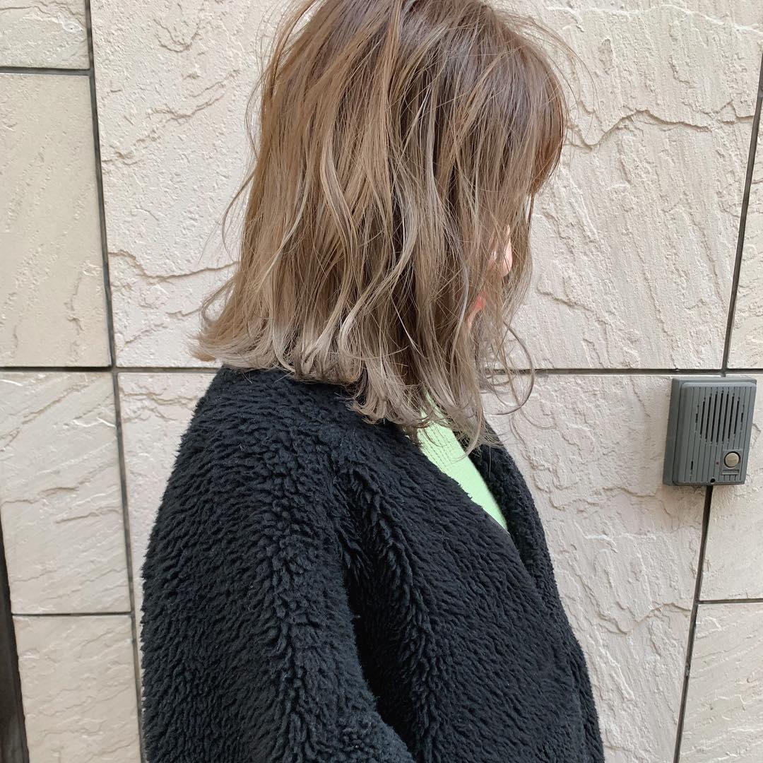 大注目のトレンドアイテム☆ボアコートにぴったりのヘアアレンジ8