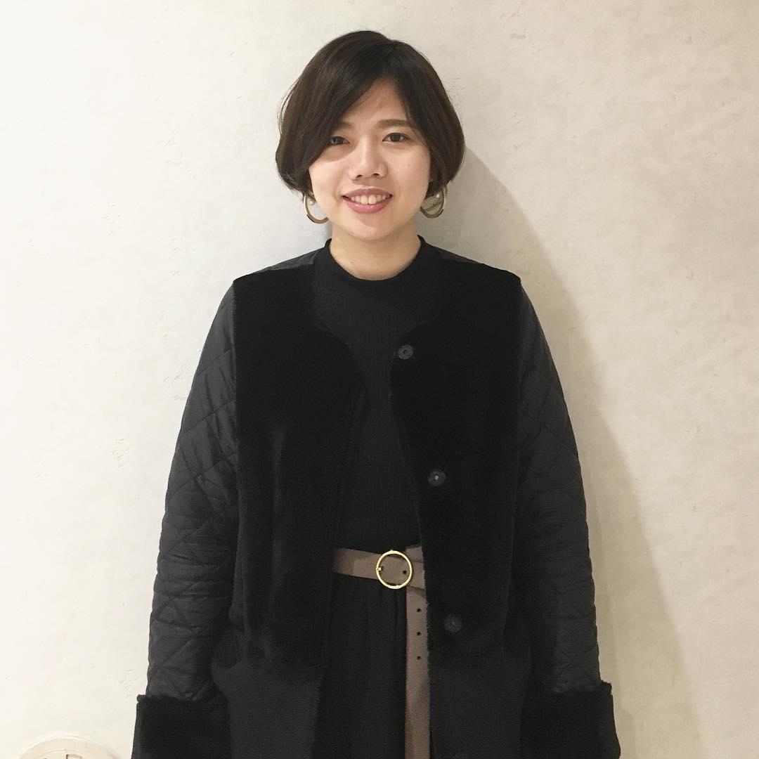 トレンド☆ロングコート×ロングスカートの組み合わせに合うヘアアレンジ8