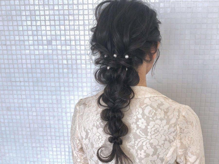 キラキラパールが冬っぽくてカワイイ♡パールのヘアアクセに似合うヘアアレンジ5