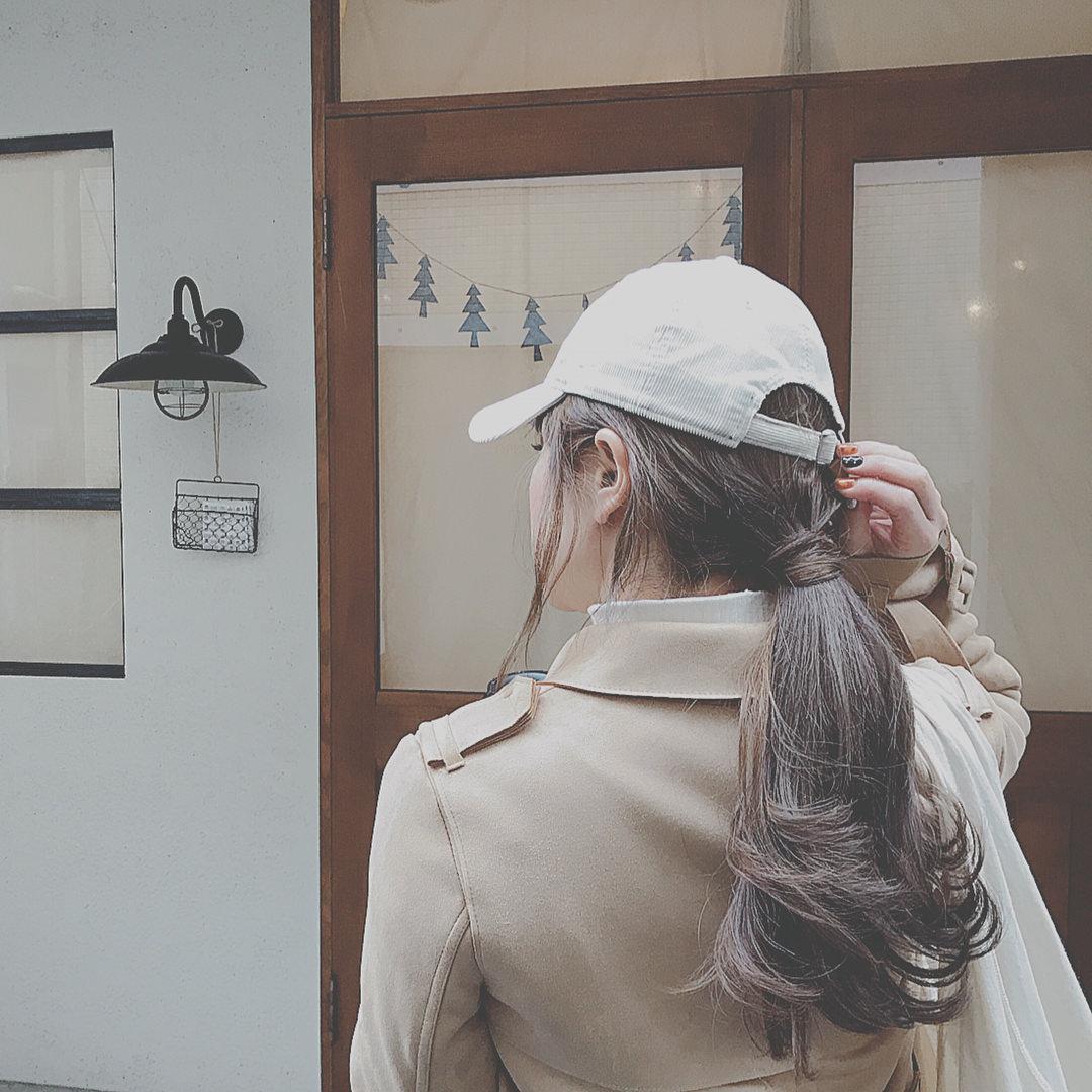 トレンド☆ロングコート×ロングスカートの組み合わせに合うヘアアレンジ5