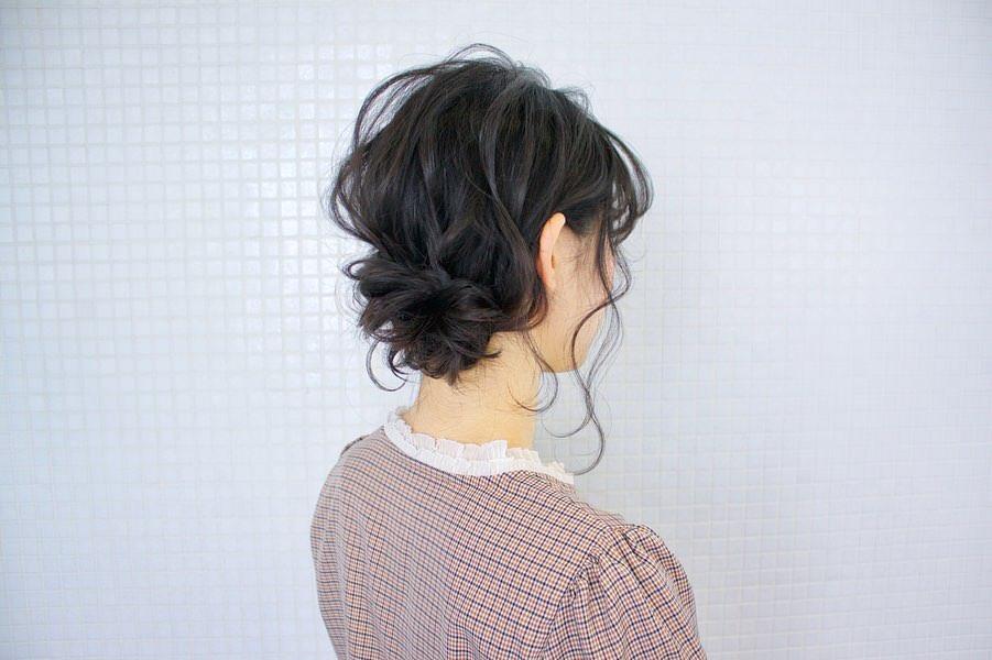 周りと差がつくポイント☆おくれ毛必須のヘアアレンジ7
