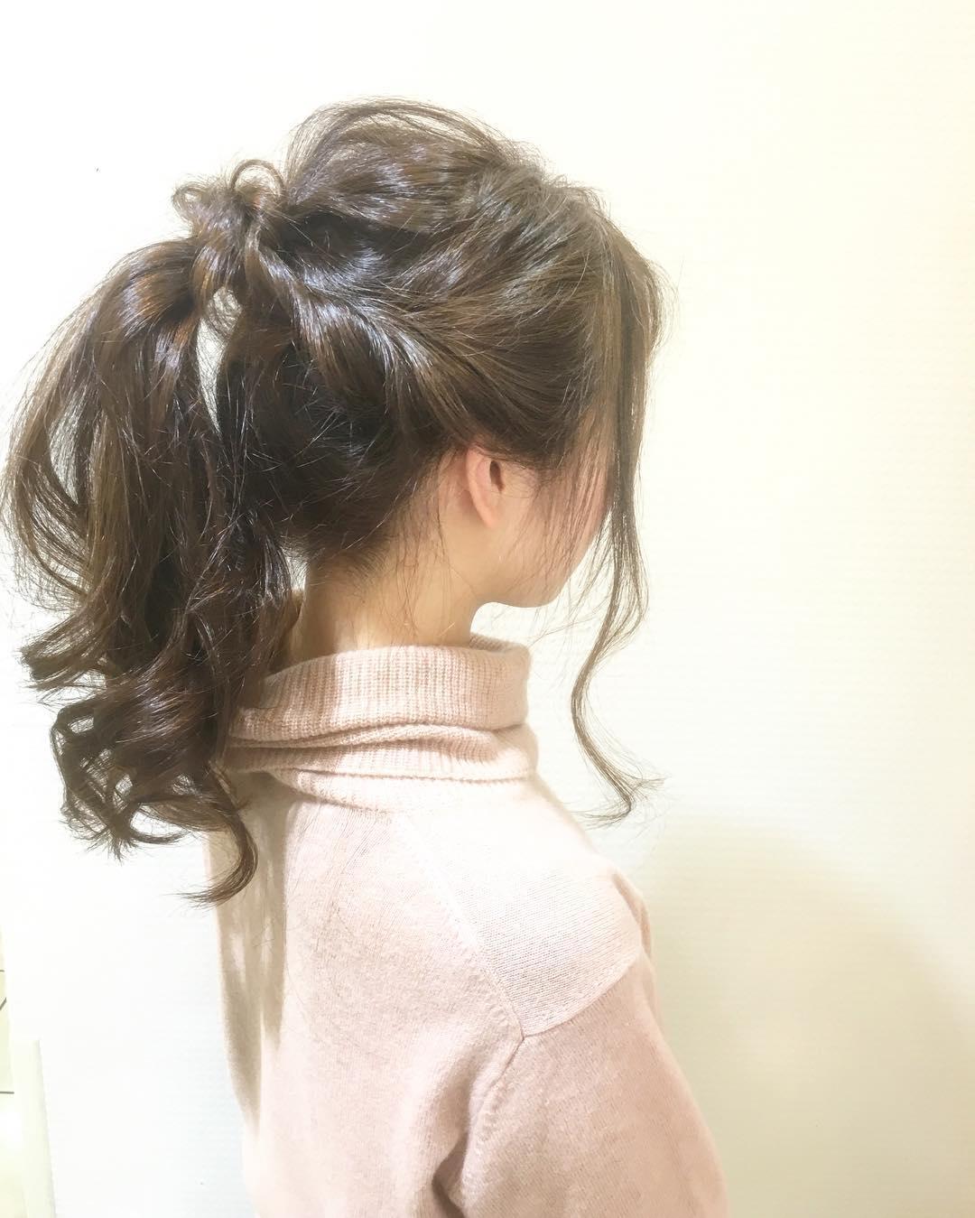 周りと差がつくポイント☆おくれ毛必須のヘアアレンジ10