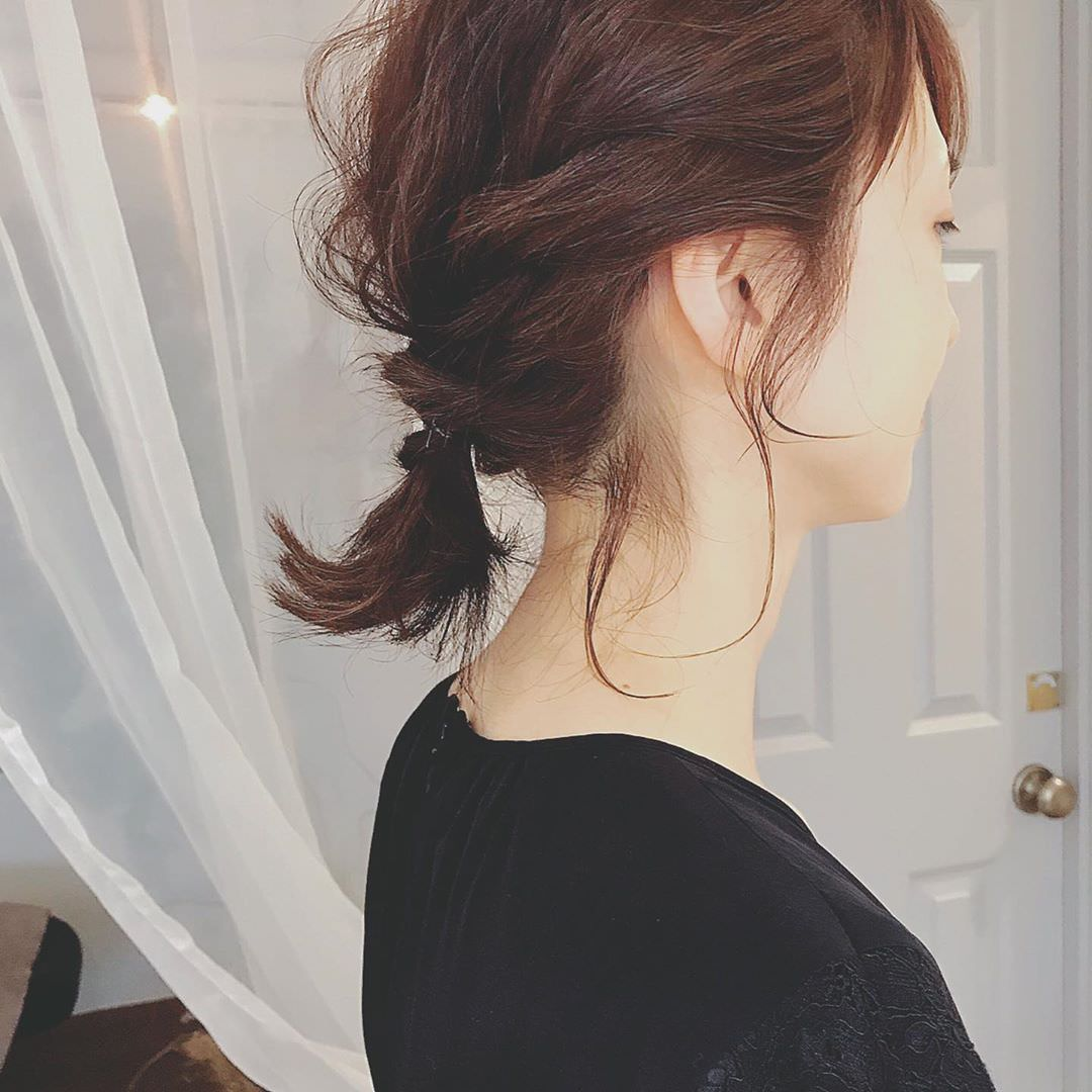 周りと差がつくポイント☆おくれ毛必須のヘアアレンジ9
