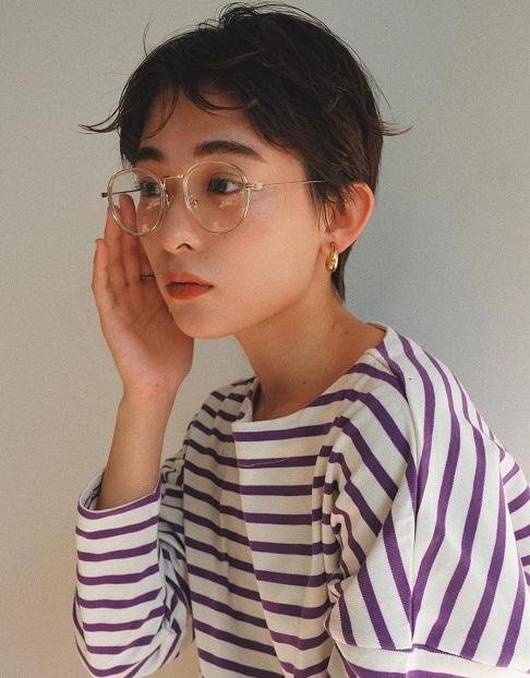 2020年トレンド☆太めのアーチ眉メイクにぴったりのヘアアレンジ