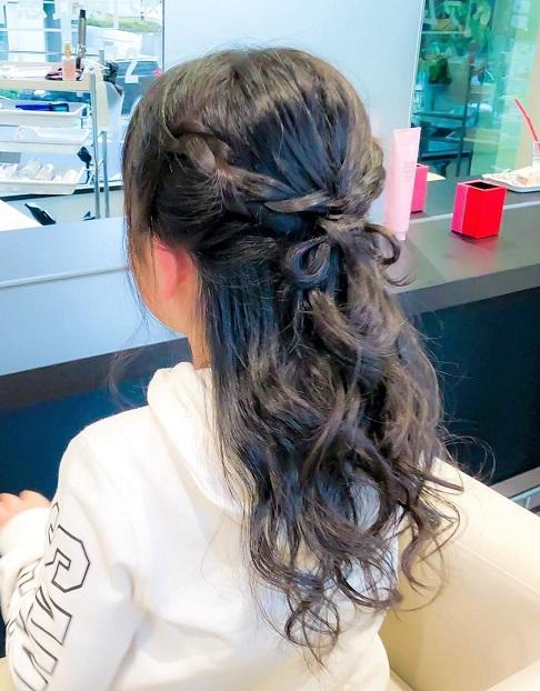 親子で可愛く☆おそろいヘアスタイル